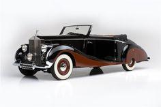 1947 ROLLS-ROYCE SILVER WRAITH CONVERTIBLE BY FRANAY - Barrett-Jackson Auction Company - World's Greatest Collector Car Auctions