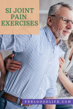 Simple SI Joint Pain Exercises To Realign Your Pelvis & Reduce Discomfort Si Joint Pain, Stability Exercises, Piriformis Syndrome, Sciatic Pain, Lower Back Exercises, Back Pain Relief, Simple, Relieve Back Pain