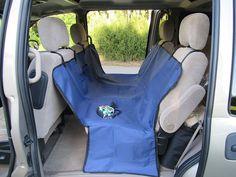 1 Waterproof Premium Dog Seat Cover With Seat Anchors And Zip Up Door  Protectors   Keeps