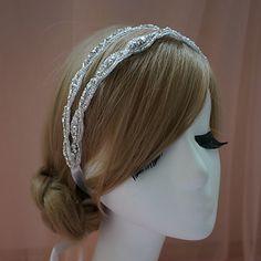 Handmade Rhinestone Wedding/Special Occasion Headbands – USD $ 23.99