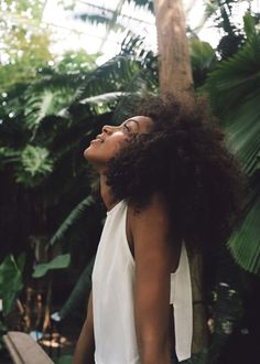 The Pinterest 100: Beauty & Grooming; Ditching products and styling tools and embrace natural hair texture, be it curly, wavy or straight.