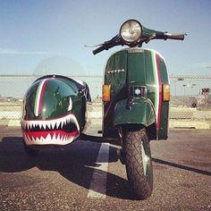 Taken from:  @britishscooterstyle  Tag our page  #vespas_world   #vespas #vespas_world #oldschool #italian #italianvespa #vespa #vespagts #vespapx #vespasupersport #piaggio #bike #motorcycle #vespastyle #vespalife #vintage #vintagevespa #vintagescooters #vespa125 #vespa150 #vespa250 #vespa300 #vespagts125 #vespagts300 #vespatuning