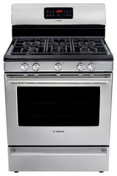 Delicieux Bosch 500 Series Evolution Stainless Steel Gas Range   Contemporary   Gas  Ranges And Electric Ranges