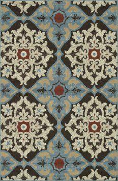 Rectangle Transitional Chocolate-Multi Color - Loloi Arbor Rug (9' x 12')
