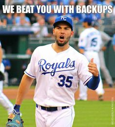 Some of these guys aren't back-ups anymore. Go #Royals!