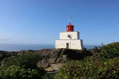 The wild pacific trail is one of the most spectacular ocean trails on Vancouver Island. This trail is carved on rugged coast line and is a must do! Ucluelet Bc, Pacific Rim, Vancouver Island, Statue Of Liberty, Trail, Coast, Hiking, Ocean, Building