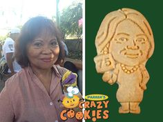A 75th birthday is something to celebrate! Make your birthday party memorable with custom cookies of the birthday girl by Parker's Crazy Cookies. Our outstanding customer service guarantees that your cookies will be just the way you wish...perfectly packed and arriving right on time!