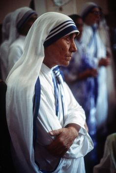 Mother Teresa  Eddie Adams