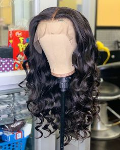 Thriving Hair Pre-Plucked Virgin Full Lace Wigs With Baby Hair Glueless Bouncy Wave Human Hair For Women Medium Hair Styles, Curly Hair Styles, Natural Hair Styles, Loose Hairstyles, Straight Hairstyles, Short Haircuts, Lace Front Wigs, Lace Wigs, Garden Route