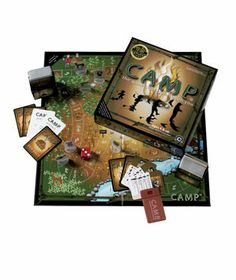 Camp Board Game, gift for Father's Day.