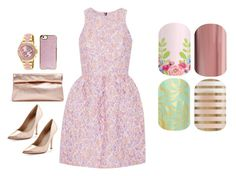 """""""Spring/Easter Set - Jamberry Nails"""" by kspantonjamon on Polyvore featuring Markus Lupfer, Charles David, Marie Turnor, Agent 18 and Invicta"""
