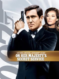 On Her Majesty's Secret Service. As much as I love the Bond movies I don't have many on DVD. I've only got three, Goldeneye, Goldfinger and this one which vies with Goldeneye as my favourite Bond movie. Best James Bond Movies, James Bond Movie Posters, Fresh Movie, James Bond Party, Service Secret, George Lazenby, Joanna Lumley, Movie Info, Australian Actors