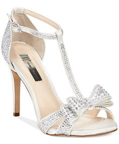 INC International Concepts Women's Reesie2 High Heel Evening Sandals......OMG these are wedding shoes!!!! Love these