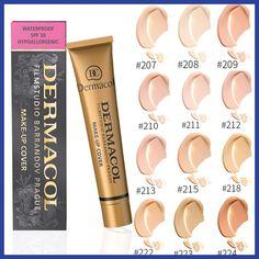 100% Original Dermacol base primer corrector concealer cream makeup base tatoo consealer face foundation contour palette 30g