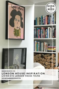 Join us on the trial on #livingetc house tours in North Londons Highbury & Islington. #bornandbredstudio #housetours #hometours #lighting #livingroomideas #realhomes #eclecticinteriors