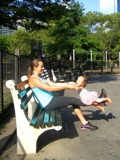 Loose the baby weight while spending time with your child outside