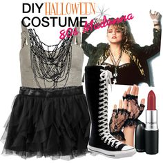 Halloween Express Costumes from the 80's | fashion look from October 2011 featuring AllSaints and Converse ...
