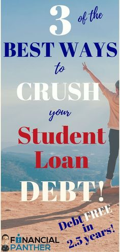 ERASE your student debt with 3 of the BEST WAYS to pay off your student loan debt! Learn how I paid off my student loan debt in ONLY years! I used OVER 3 strategies to pay off this debt.learn what I did and HOW I did it in this amazing post! Student Loan Payment, Federal Student Loans, Paying Off Student Loans, Student Loan Refinance, Loan Money, Student Loan Forgiveness, Unsecured Loans, Mortgage Tips, Debt Payoff