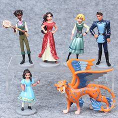 6 pçs/lote 9 cm anime Elena de Avalor PVC Action figure boneca brinquedos para as crianças presentes de natal em Figuras de ação & Toy de Brinquedos Hobbies & no AliExpress.com | Alibaba Group