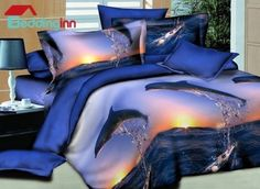Dolphin Jumping into the Sea Print 4-Piece Combed Cotton 3D Duvet Cover Sets Buy link>>>http://urlend.com/MZRnqa2  Live a better life, start with Beddinginn  http://www.beddinginn.com/product/Dolphin-Jumping-Into-The-Sea-Print-4-Piece-Polyester-3d-Duvet-Cover-Sets-10967934.html