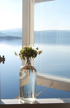 open window, without the flowers this is pretty much the feeling I want to give people