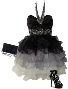 """""""In black"""" by sirryh on Polyvore"""