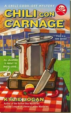 "Tour Review, Interview and Giveaway for ""Chili Con Carnage"" by Kylie Logan"