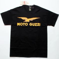 The classic Moto Guzzi logo from Metro Racing. Printed in the USA on a 100%…