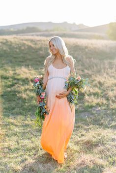 Mike Arick Photography - Maternity Photography, floral boa / garland by Lavenders Flowers  Dress by Woodleigh Clothing
