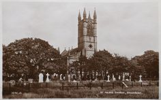 Postcard of St. Church Of England, San Francisco Ferry, Building, Travel, Voyage, Buildings, Viajes, Traveling, Trips