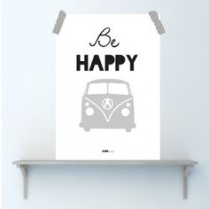 Poster Bus Be Happy