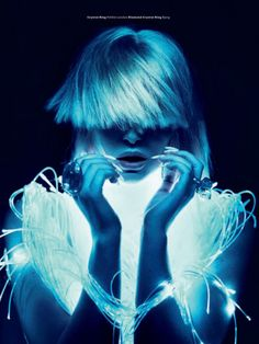 The Glow | Alain Pichon ( Hair Stylist ) | Leica S Magazine / http://www.creativeboysclub.com/