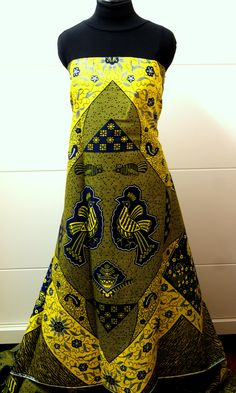 African wax fabric fashion. www.waxfusion.net