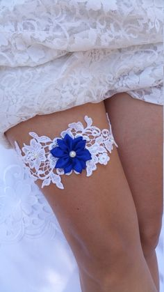 SALE Lace wedding garter Wedding garter by LiataBridalBoutique