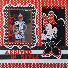 This Disney Scrapbook Album has lots of Disney scrapbook ideas. It's a trip to Disney Animal Kingdom with Mickey Mouse, Goofy, Mickey Parade pages and more.