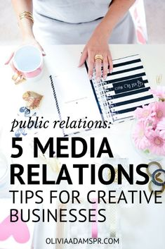 5 Media Relations Tips For Creative Business Owners. If you are a entrepreneur looking to improve your social media biz strategy, these tips, tricks, and ideas will help you and your brand make an impact. Small Business Marketing, Content Marketing, Social Media Marketing, Online Business, Marketing Strategies, Social Networks, Business Advice, Business Planning, Business Opportunities