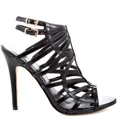 Turn the heat up in the Harlen 2 by Guess - a lower 4 1/2 inch heel completes this sexy style.