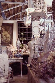 staging ideas. antique shop