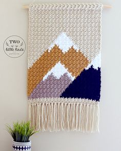 Ravelry: The Adirondack Wall Hanging pattern by Emily