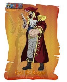 Gol D. Roger by orochimarusama1.deviantart.com on @DeviantArt