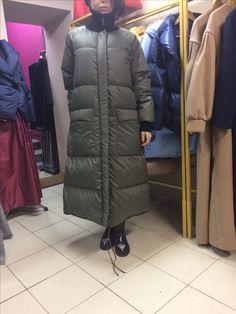 Пуховик . Пуховое пальто.