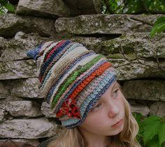 falling colors hat | by karnakarna designs