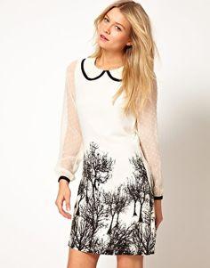 Yumi Landscape Dress
