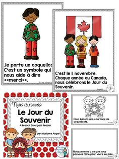 Le Jour du Souvenir - Teaching French Immersion: Ideas for the Primary Classroom French Days, Core French, French Lessons, Spanish Lessons, Teach Yourself French, French Teaching Resources, Teaching Spanish, Teaching Ideas, Teaching French Immersion