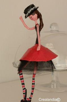 Crealandia: Ballerina di cartapesta