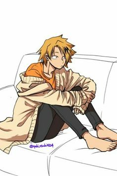 My Hero Academia - Kaminari Denki Boku No Hero Academia, My Hero Academia Memes, Hero Academia Characters, My Hero Academia Manga, Anime Characters, Anime People, Anime Guys, Human Pikachu, Bakugou Manga