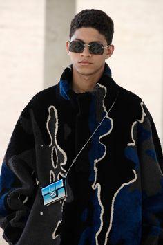 Fendi Spring 2022 Men's Details | The Impression Men Fashion Show, Fashion Week, Mens Fashion, Vogue Paris, Nylons, Prada Spring, Mens Trends, Fashion Advertising, Spring Street Style