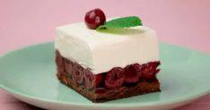 Ciasto wiśniowa chmurka na herbatnikach - Pyszności Cake, Food, Kuchen, Essen, Meals, Torte, Cookies, Yemek, Cheeseburger Paradise Pie