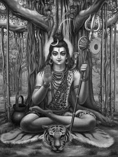 Shiva seated under a banyan tree facing south is called Dakshinamurti, or the south-facing image. It presents Shiva as the teacher of teachers.