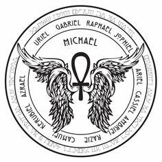 Image result for Archangel Michael Angelic Symbols